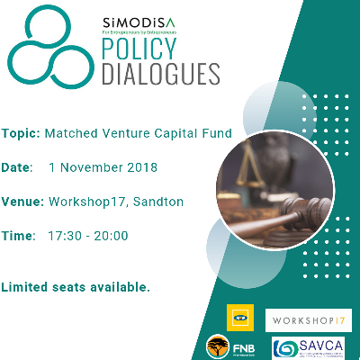 SiMODiSA policy dialogues - 01 November 2018