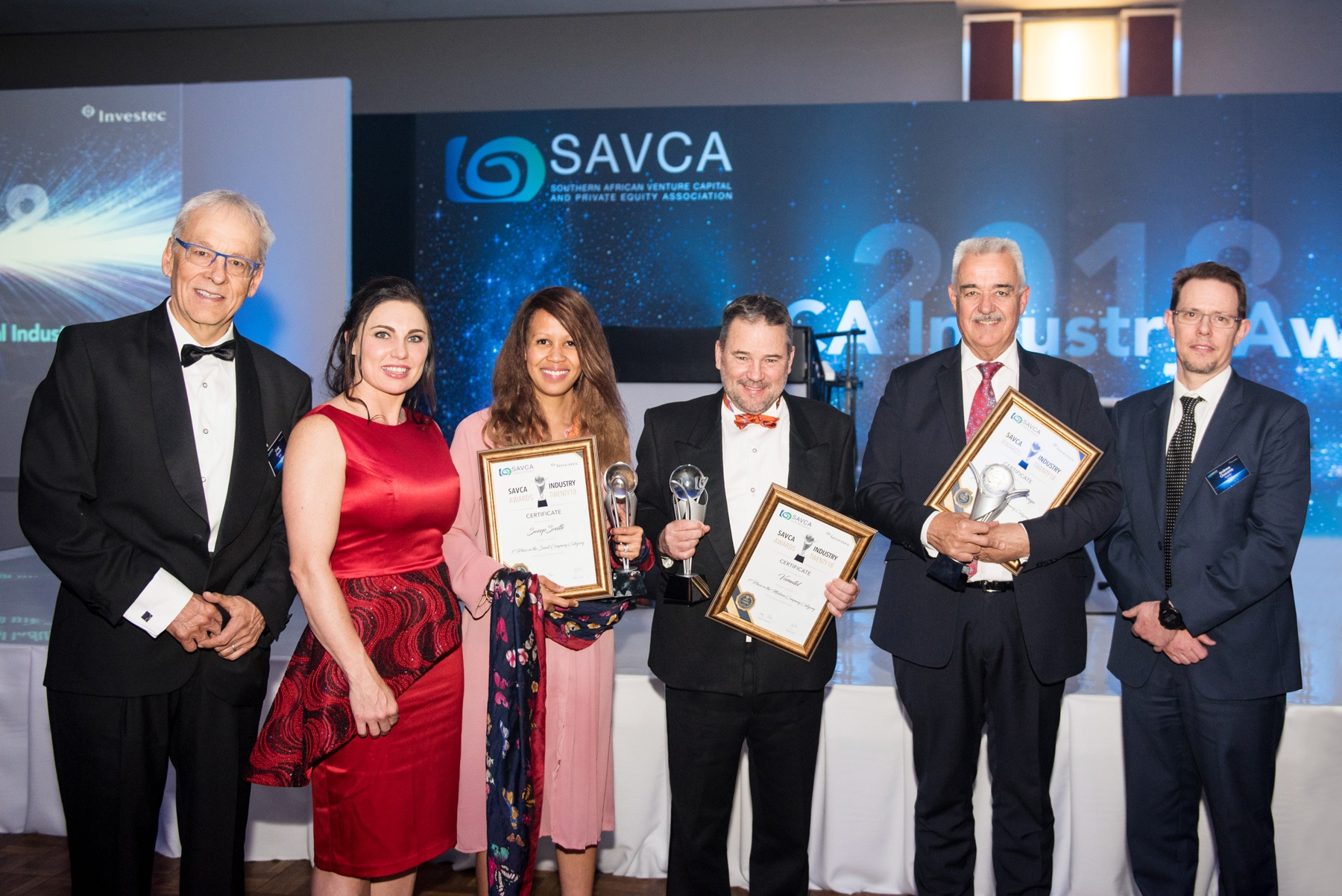 SAVCA Award Winners