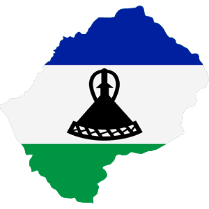 Africa Map Button-Lesotho