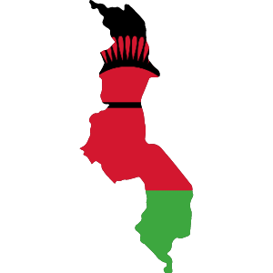 Africa Map Button-Malawi