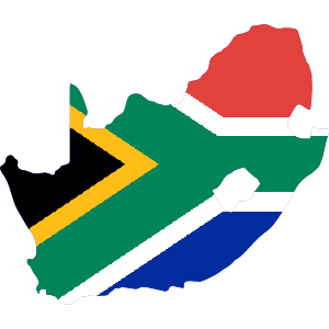 Africa Map Button-South Africa