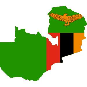 Africa Map Button-Zambia