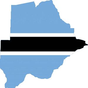 Africa Map Button_Botswana