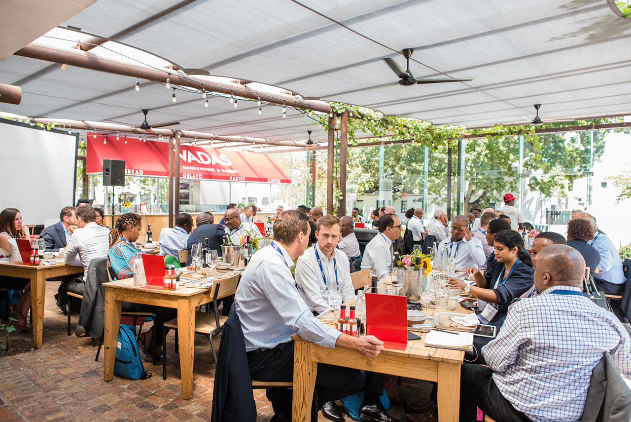 SAVCA Conference Photos - Institutional Investors Lunch