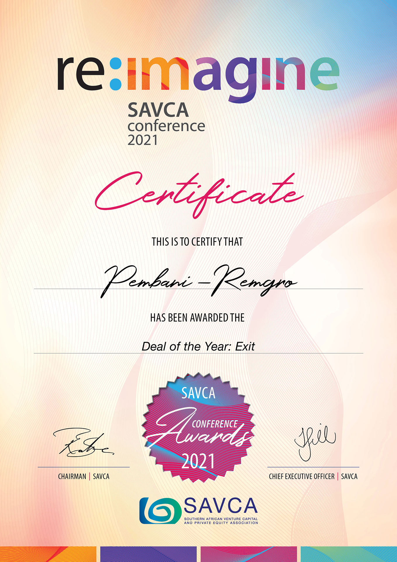 SAVCA-Conference-Award-2021-Winner-Pembani-Remgro
