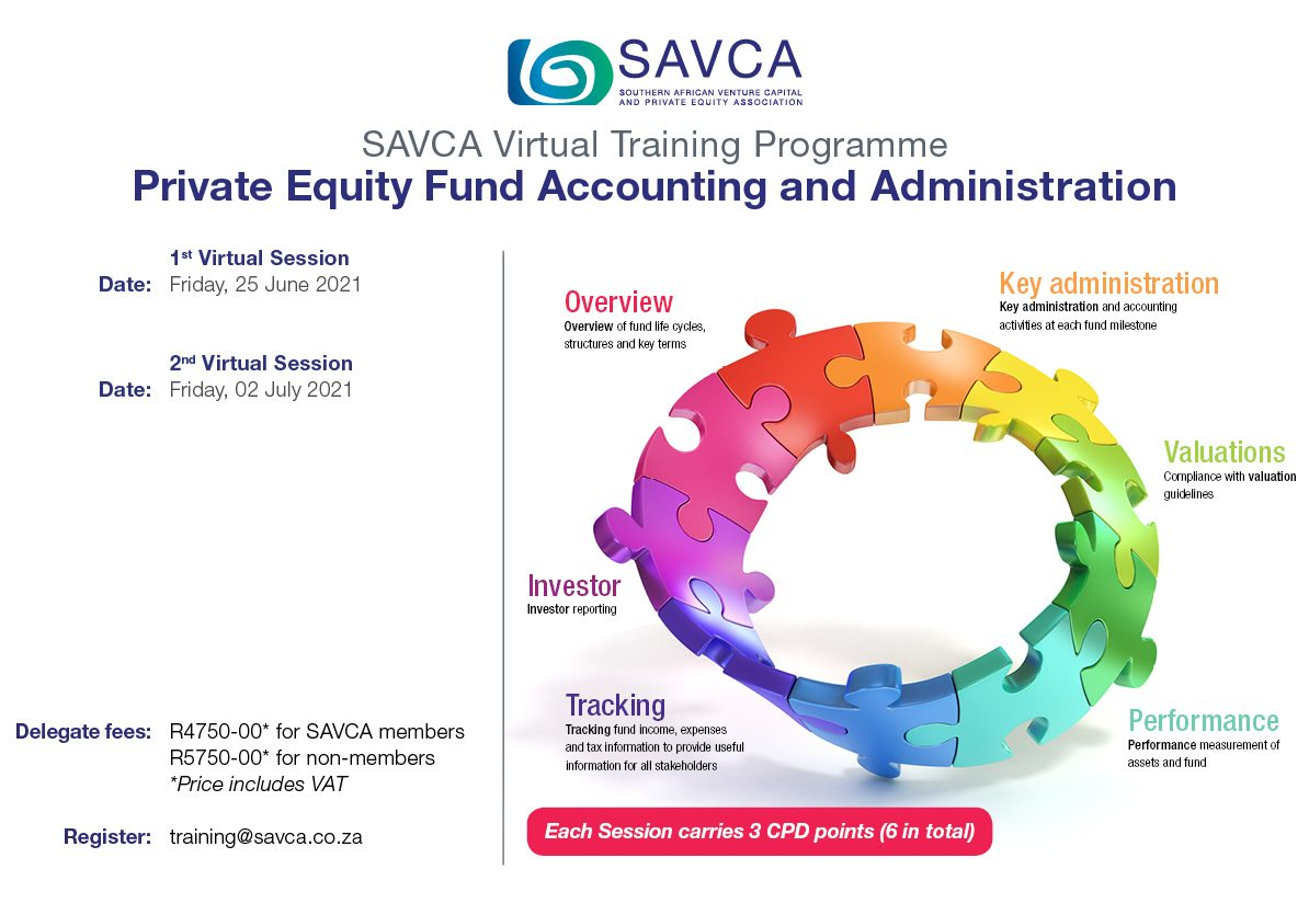 PE Fund Accounting & Administration Invite 2021