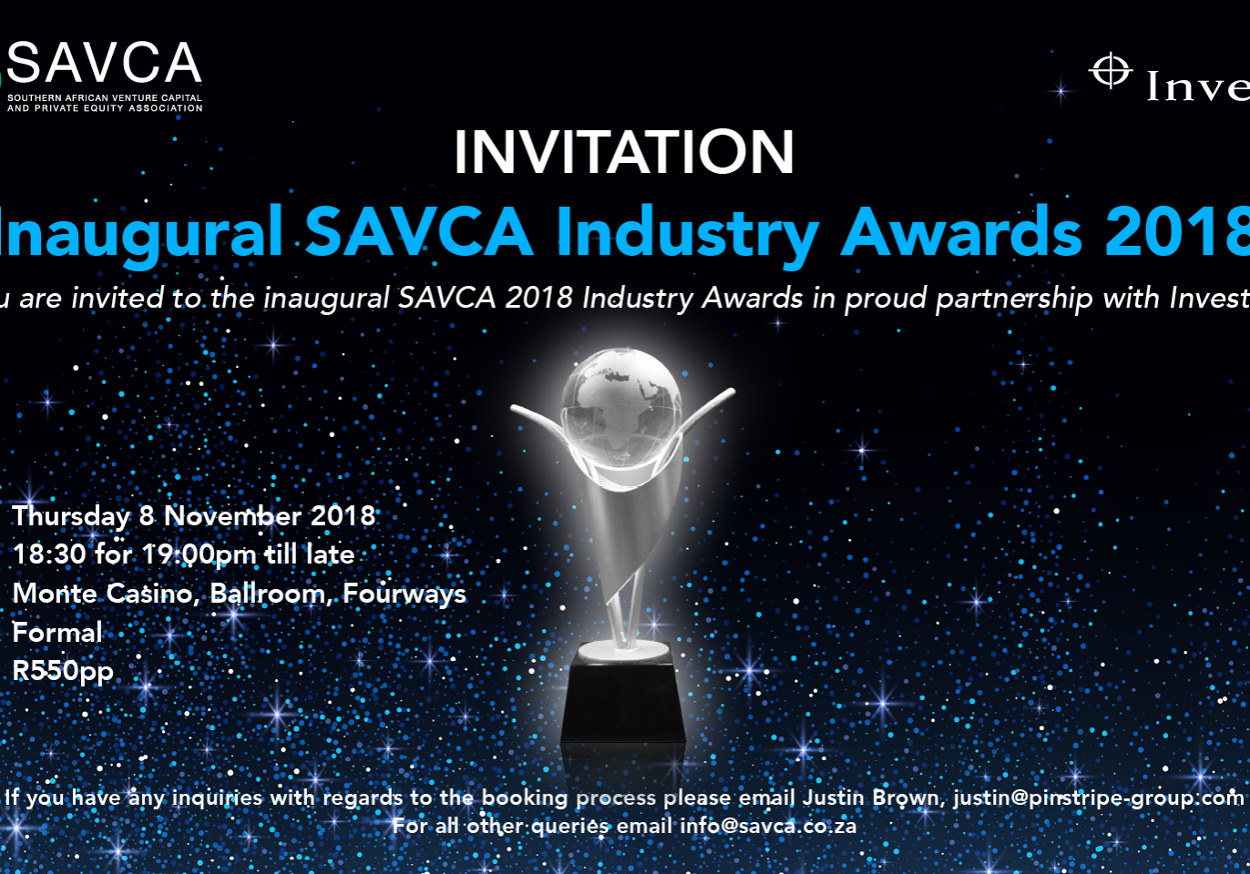SAVCA Industry Awards Invitation_Pinstripe